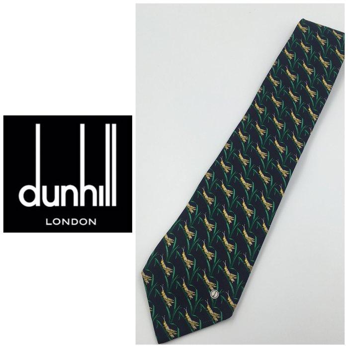 【皮老闆二店】領434 二手正品 狀態良好 DUNHILL 手打領帶