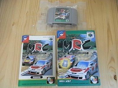 【小蕙館】N64日版卡帶 ~ MRC 賽車錦標賽 (盒裝)