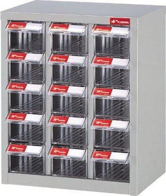 附發票(東北五金)樹德SHUTER 零件盒 零件櫃 公文櫃 資料櫃 置物櫃 整理盒 工具箱 A8-315 (來電1115