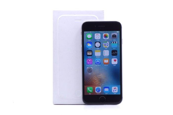 【台中青蘋果競標】Apple iPhone 6 太空灰 64G 蘋果手機 料機出售 #15957