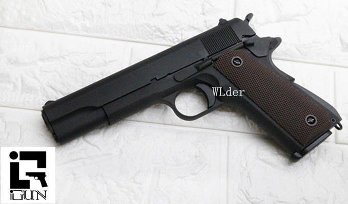 iGUN M1911 CO2槍 全金屬 MC(COLT 45手槍MEU柯特1911科特BB槍BB彈瓦斯槍短槍V12