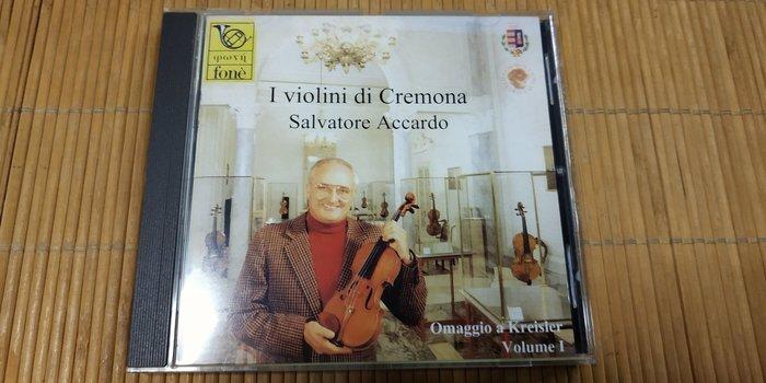 好音悅 Accardo Homage to Kreisler Vol.1 阿卡多與五把名琴 向克萊斯勒致敬 Fone