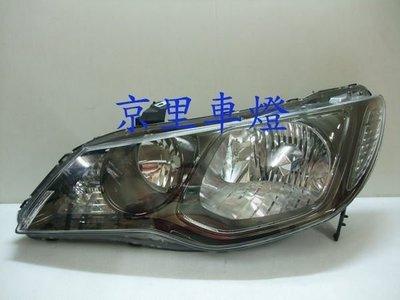 京里車燈專網  本田 HONDA 喜美八代 CIVIC8 C8 K12 09 10 11 12年 原廠HID板大燈