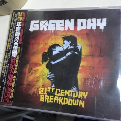 蓋章 全新CD+dvd Green Day / 21st Century Breakdown (2009)