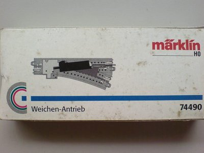HO 74490 MARKLIN~Electric Turnout Mechanism for C Track
