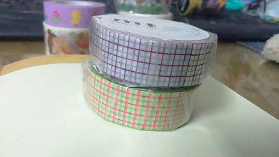 【R的雜貨舖】紙膠帶分裝 日本mt和紙膠帶 方眼 方格 拼接 基本款