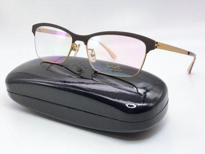 【本閣眼鏡】inus 韓國眼鏡 光學鏡框 超輕鏡架 薄鋼眼鏡 ig推特直播主網紅網美最愛 素顏遮瑕 降價$1000