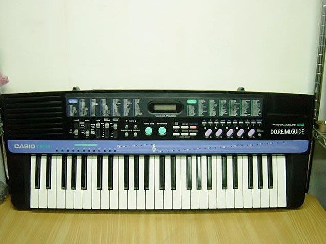 @【小劉二手家電】CASIO 電子琴,CT-840型,附背帶