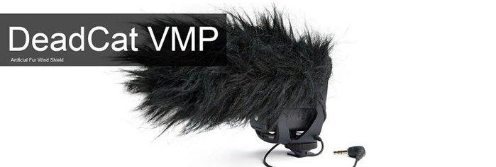 造韻樂器音響- JU-MUSIC - 全新 RODE DeadCat VMP 指向型麥克風 防風罩 人造毛皮