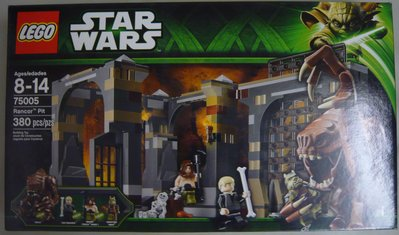 LEGO Star Wars 75005 Rancor Pit (全新 絕版 未開 MISB 與 75263 75240 75267 75270 共融)
