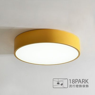 【18Park】北歐時尚 Dome ceiling light [ 圓頂吸頂燈-直徑60公分 ]