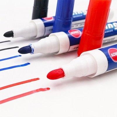 Color_me【H042】水性白板筆 白板筆 可擦寫 白板 水性筆 畫板 牆貼 壁紙 壁貼 可擦拭 紙張 玻璃 文具