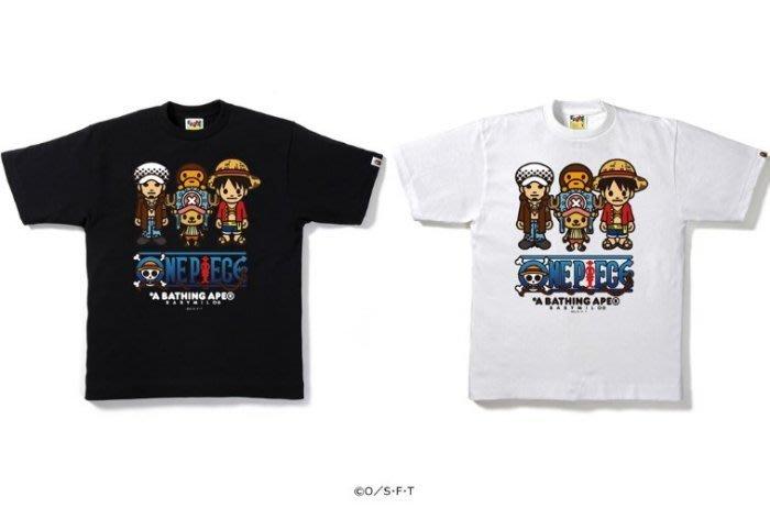 ☆AirRoom☆【現貨】BAPE ONEPIECE PIRATES ALLIANCE TEE 海賊王 連盟 魯夫 羅