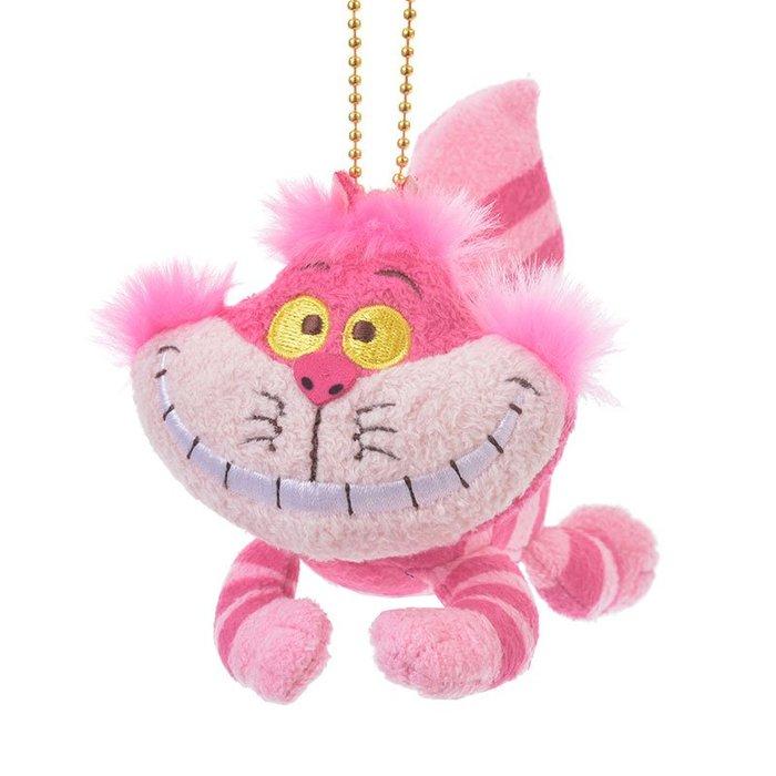 發條妙妙貓吊飾玩偶娃娃 笑笑貓 柴郡貓 愛麗絲夢遊仙境 日本迪士尼商店正版~彤小皮的遊go世界