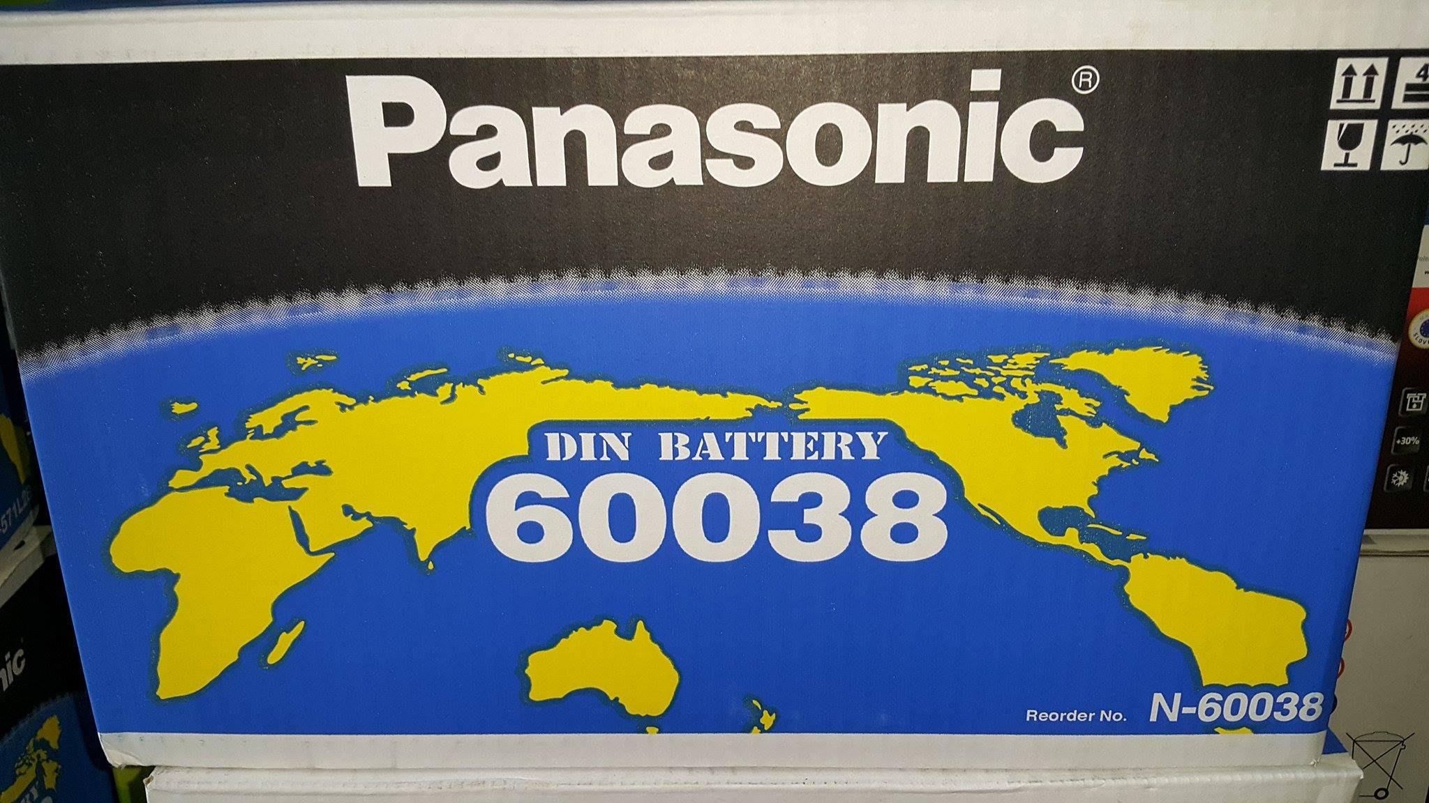 台中市平炁太平大里霧峰草屯大雅豐原神岡汽車電池 國際牌 Panasonic 60038(100AH) 歐規電池 舊換新