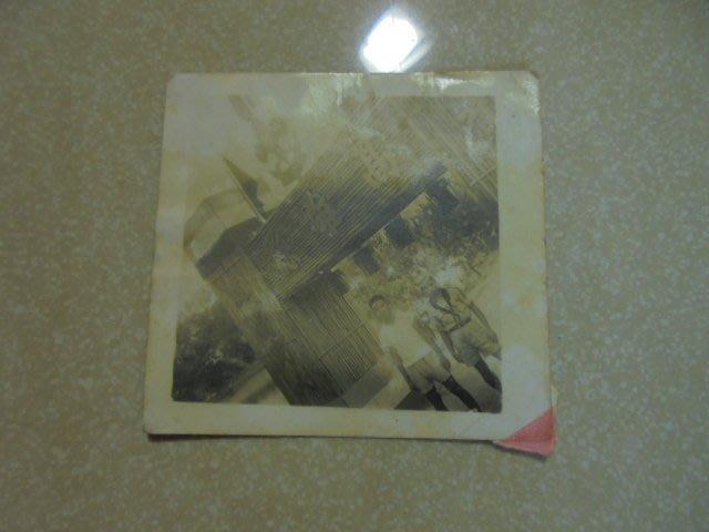 早期民國45年中國童子軍第三次全國大露營于大貝湖黑白照片1張  牛哥哥二手藏書