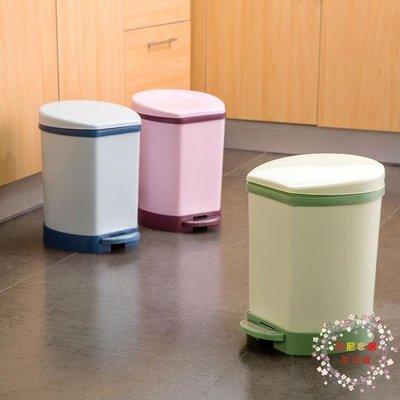腳踏式有蓋垃圾桶家用廚房垃圾簍翻蓋紙簍...