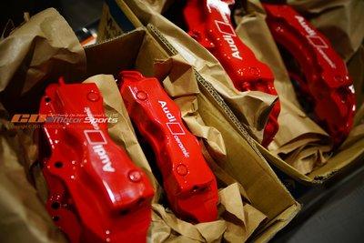 AUDI Q7 BREMBO 18Z 客製烤漆自我搭配 紅色卡鉗 質感呈現 玩色 清潔 保養 歡迎訊問 / 橙大國際