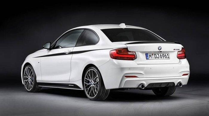 【樂駒】BMW 原廠 改裝 套件 外觀 空力 F22 M Performance 側裙套組 側邊 飾板