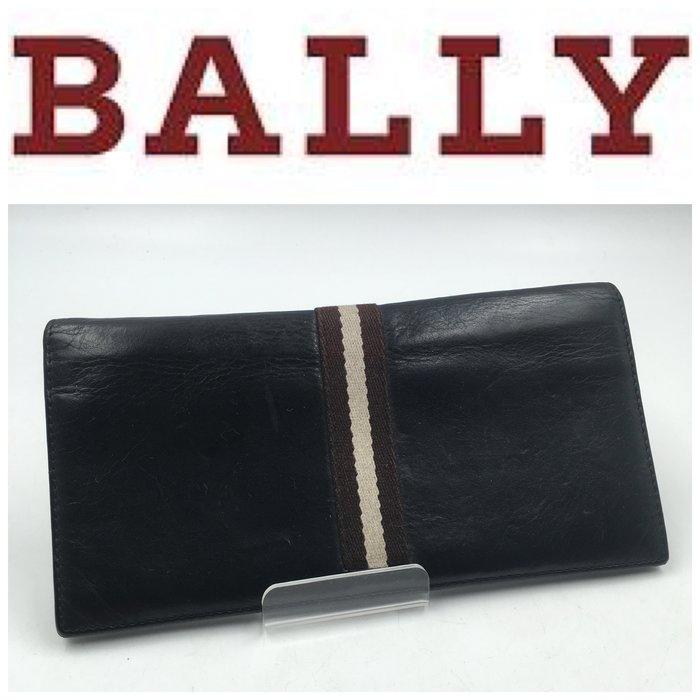 【皮老闆二店】二手真品 BALLY 錢包 皮夾 長夾 L410