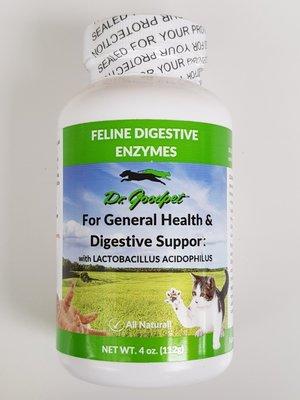 Dr.goodpet 消化酵素 益生菌 消化酶 Feline Digestive Enzymes 112克