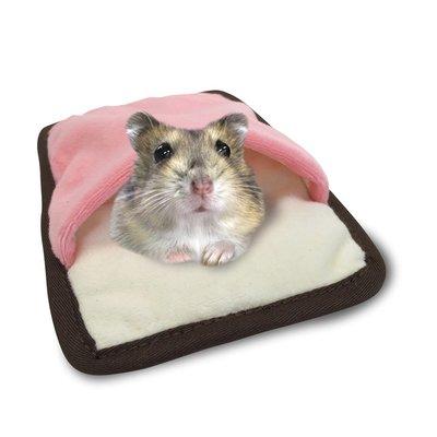 MARUKAN 小動物專用棉窩 寵物鼠保暖吊床 蜜袋鼯睡窩 睡床 睡袋 MR-356,鬆緊帶設計超方便,每件200元