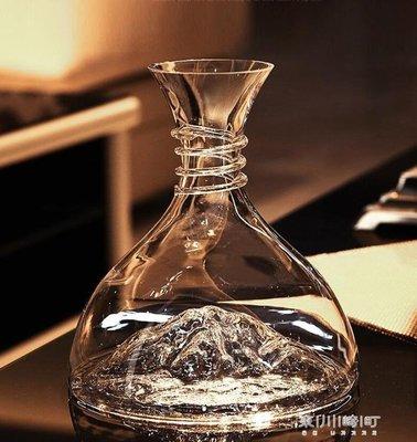 醒酒器-Iceberg berg冰山無鉛水晶玻璃紅酒醒酒器快速葡萄酒分酒器紅酒杯 -百利
