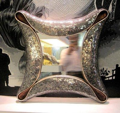 美學空間《義大利幻彩華麗風格閃耀晶鑽鏡-化妝鏡.裝飾鏡.玄關鏡.餐廳鏡‧樣品屋.LOBBY公共空間.居家.商業空間》