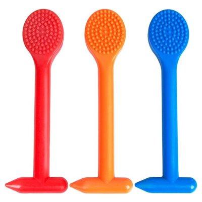 經絡拍痧板硅膠橡膠全身家用按摩棒錘子敲打捶健身養生排沙板砂莎