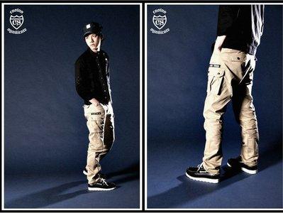CABAL // HI-MILITARY POCKET PANTS (全新品) - 工作褲/休閒褲