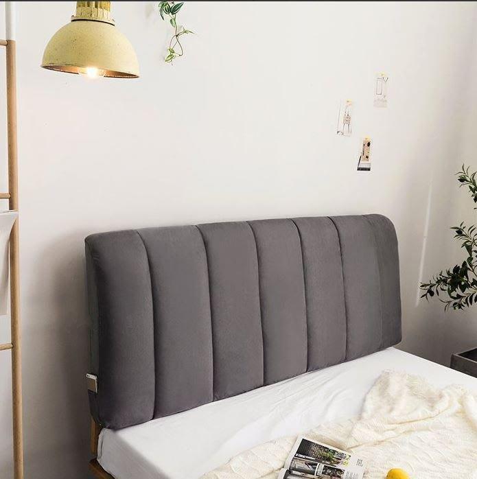 ART。DECO  素面床頭片靠墊軟包拉扣款床頭墊布藝床頭片榻榻米床頭靠背墊有無床頭板軟包可依尺寸訂製客製化尺寸訂做多色