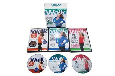 傑西卡·史密斯:30天健身計劃3DVD 260克 Jessica Smith Walk On Walk the Weig