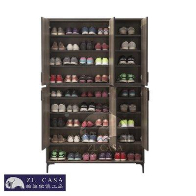 三年保固 輕工業風 古橡木 4*6 鞋櫃 木心板 免組裝【 大象傢俱】分享優惠價