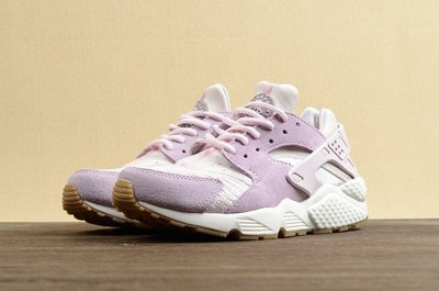 ㊣洛克代購㊣正品 Nike Air Huarache Run TXT 櫻花粉紫色 武士鞋 男女慢跑鞋