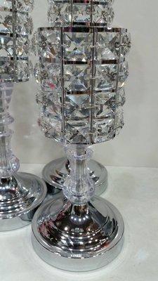 水晶鑽燭台(花器)