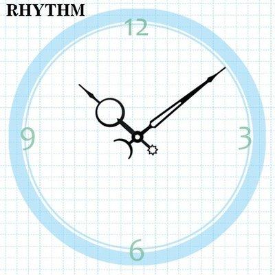 【鐘點站】R097069 麗聲RHYTHM 機芯專用 簡約指針 / 分針97mm 時針69mm / DIY 時鐘 掛鐘
