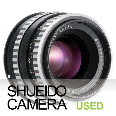 集英堂写真機【3個月保固】良品 AUS JENA PANCOLAR 50mm F1.8 DDR 東德 老鏡 21008