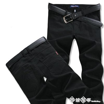 秋季休閒褲男士運動褲男直筒褲青年潮長褲子男寬鬆加大碼
