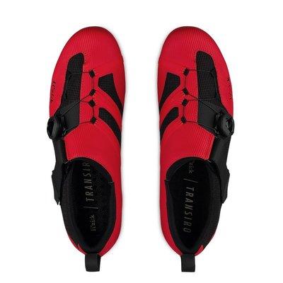 小晢居 義大利精品 fizik fizi:k Transiro R3 卡鞋 自行車鞋 三鐵鞋 公司貨 好穿透氣 紅黑色