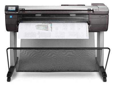 亞邦資訊-全新惠普印表機HP DesignJet T830 24-in MFP