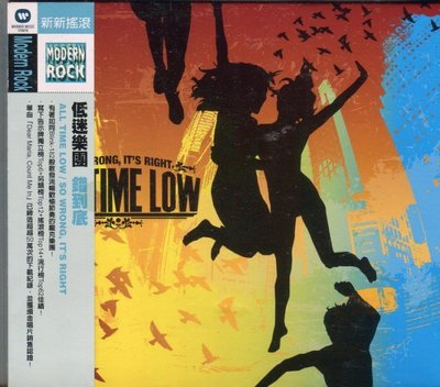 [永恆音樂網]全新低迷樂團 ALL TIME LOW - 錯到底 SO WRONG, IT'S RIGHT(限量絕版品)稀有品