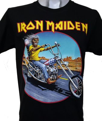 【搖滾帝國】英國重金屬樂團Iron Maiden 原廠進口T Somewhere Back in Time世界巡演 S號