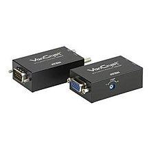 ATEN VE022 迷你型 Cat 5 影音訊號延長器 (加送變壓器)~