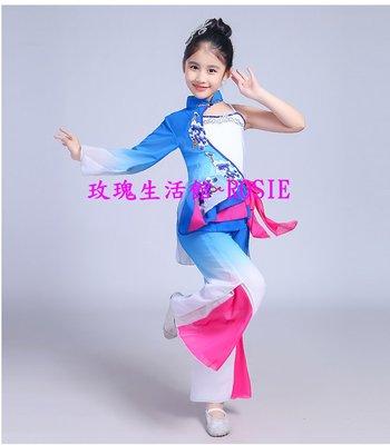 【玫瑰生活館】~女童新款舞蹈服,表演服