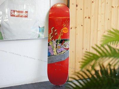 【 K.F.M 】DEATHWISH JD Blasphemy 8.125 滑板 技術板 板身 美國進口滑板