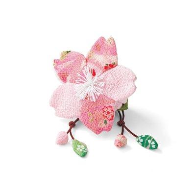 日式縐布小物隨身小提袋 材料組 -櫻花 ❤EZ樂活手作❤