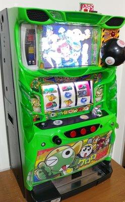 日本原裝大型機台SLOT斯洛電玩遊戲機 軍曹KERORO-短期出租一個月業務2980元絕對超值)輕鬆在家玩