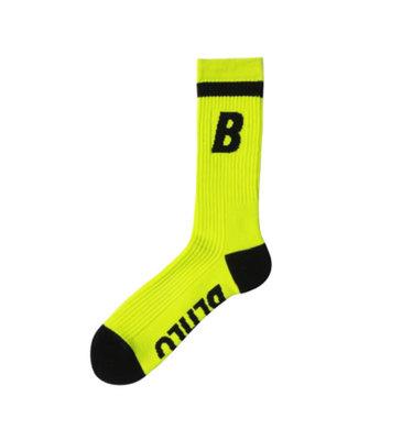 [ballaholic] B Socks (volt/black)籃球襪