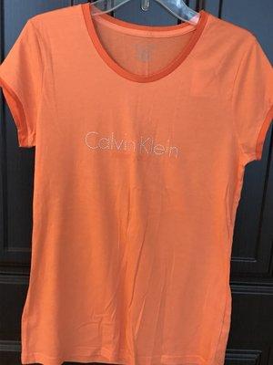 結束營業大拍賣,保證正品【現貨】CK Calvin Klein LOGOT  SIZE : S/P   橘色
