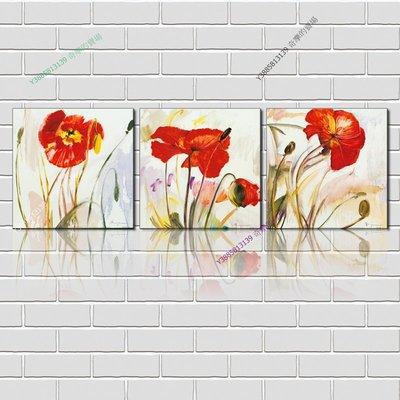 【40*40cm】【厚2.5cm】印象花卉-無框畫裝飾畫版畫客廳簡約家居餐廳臥室牆壁【280101_158】(1套價格)